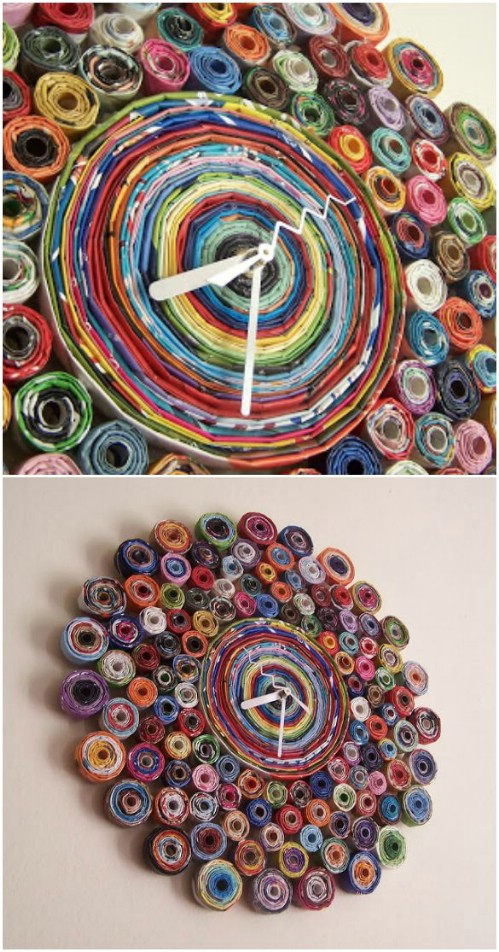 Recycled Magazine Pages