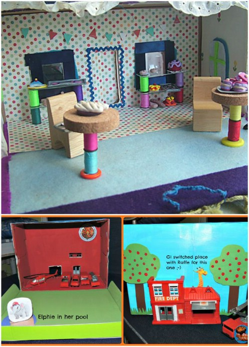 Dollhouses and Fire Stations