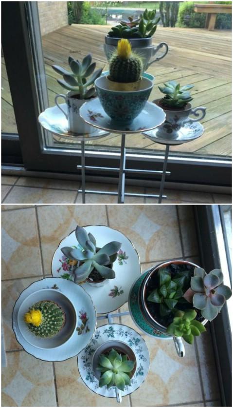 Planter Candelabra
