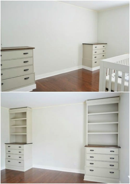 Dressers and Shelving