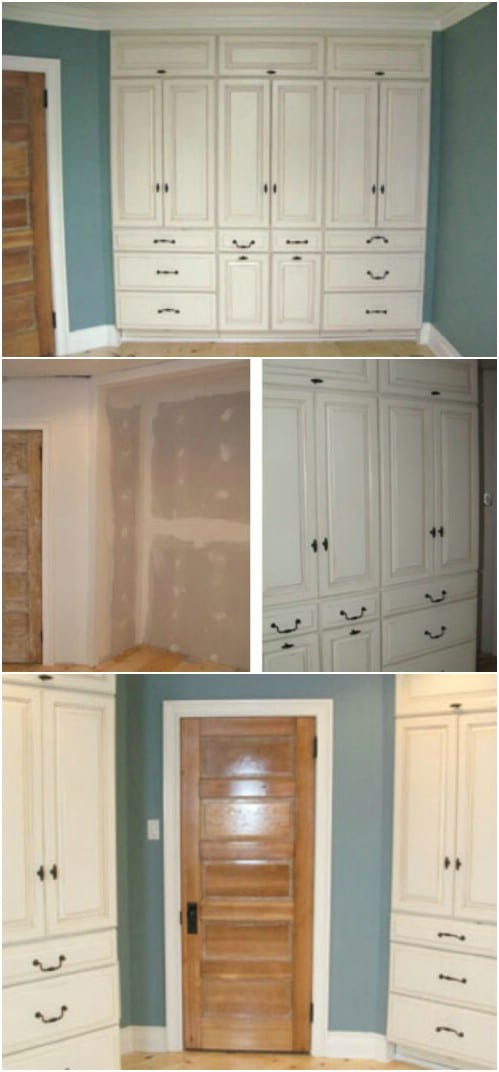 7 Beautifully Functional Diy Built In Dressers To Utilize
