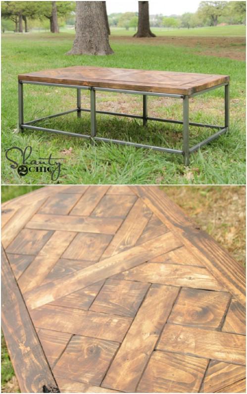 Simple Metal and Wood