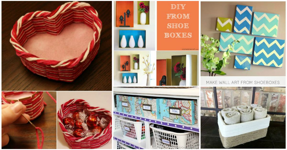 25 Brilliantly Crafty Shoebox Projects For You Your Home