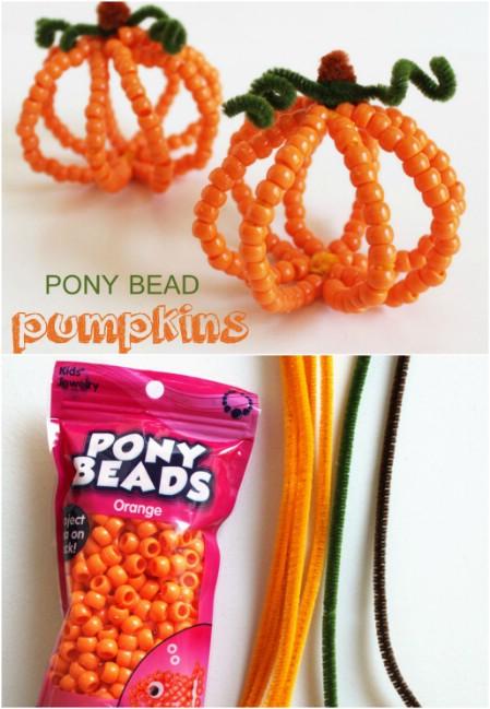 Beady Pumpkin