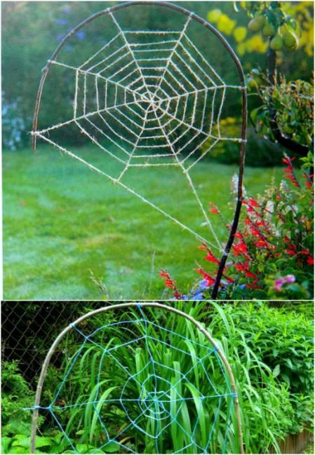 Garden Spiderweb