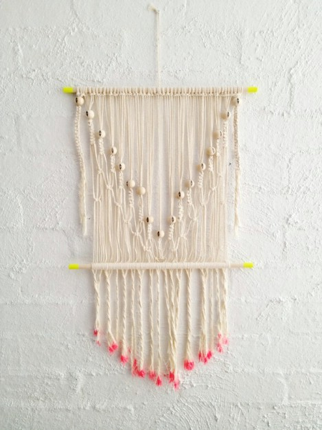 Macramé Wall Feature