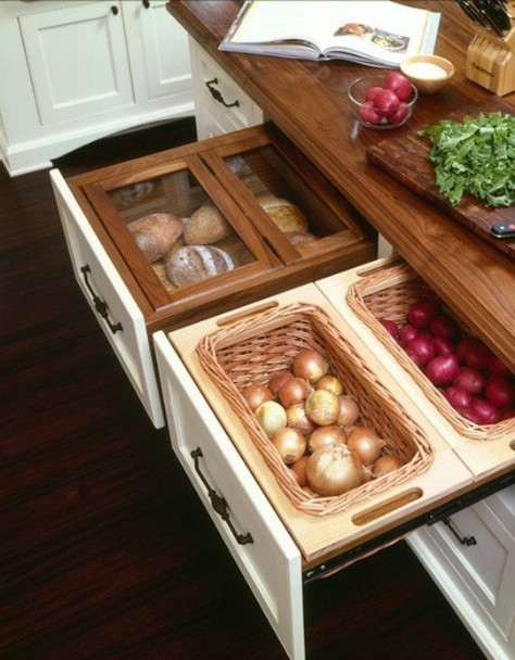 Keep your veggies in a drawer.