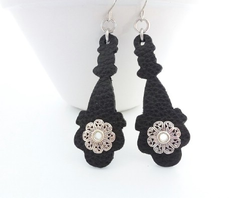 Make simple but beautiful pair of earrings.