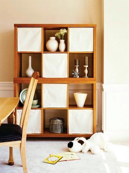 Bookshelf Shades