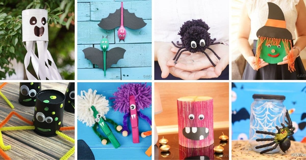 55 Fun And Easy Halloween Crafts For Kids Diy Crafts