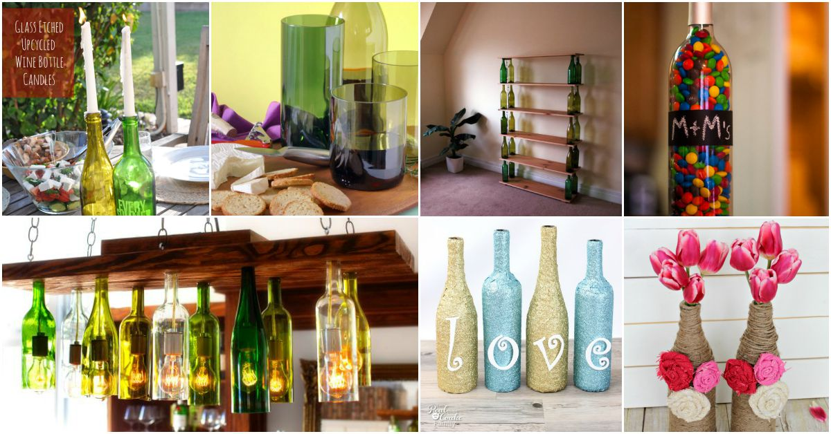 26 Epic Empty Wine Bottle Projects Don T Throw Them Out Repurpose