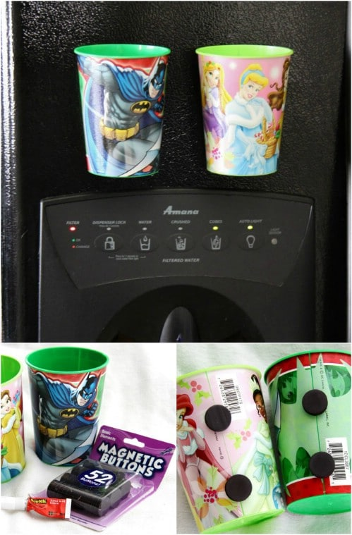 Magnet Cups for the Fridge