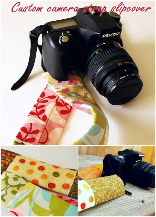 Custom Camera Strap Cover