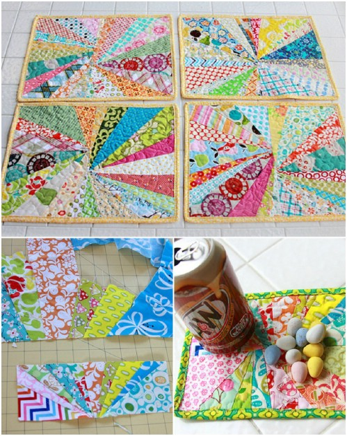 No Sew Crafts With Fabric Scraps
