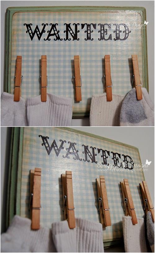 Lost Socks Board