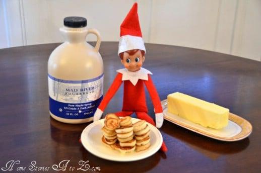 Pancake Flipping Elf