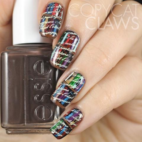 Bookworm nails