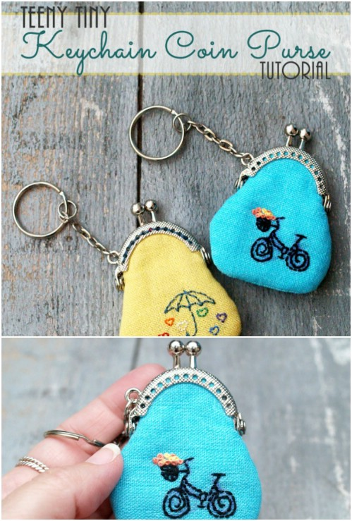 Keychain Coin Purse