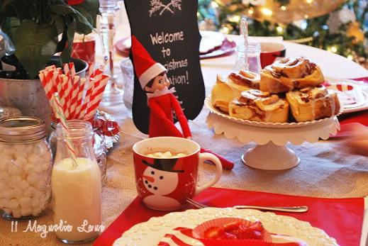 Christmas Breakfast Elf