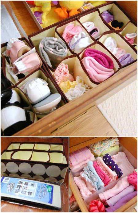 Nursery Drawer Organizers
