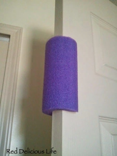 Pool Noodle Door Stop