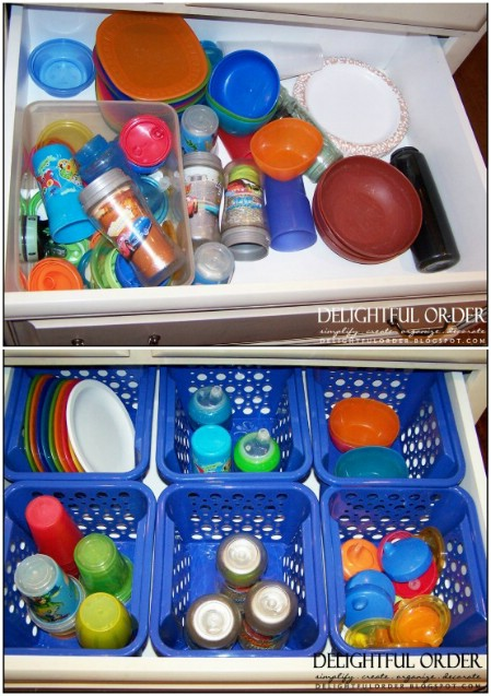 Sippy Cup Organizer