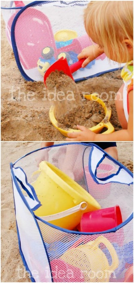 Mesh Beach Toy Holder