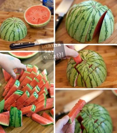 Easy watermelon hack