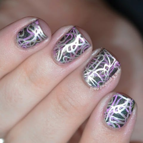Squiggly nails