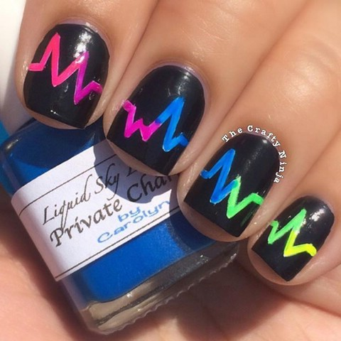 Heart rate nails