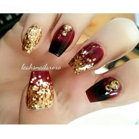 Acrylic Nail Art Fall Nail Ideas