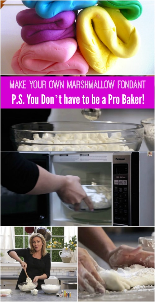 Make Your Own Marshmallow Fondant – You Don't have to be a Pro Baker!