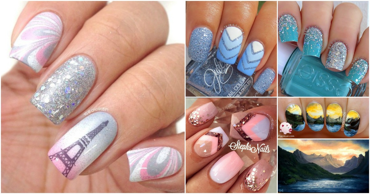 Top 100 Most-Creative Acrylic Nail Art Designs and Tutorials - DIY ...