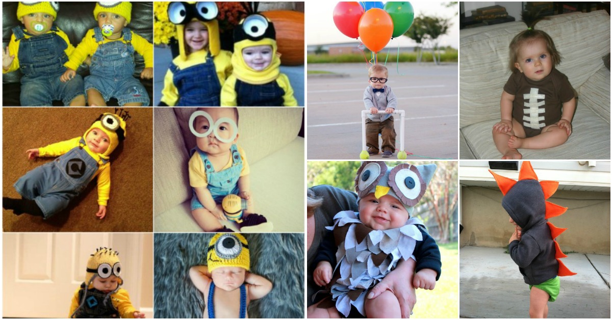 76f48289c550 21 Frighteningly Adorable DIY Halloween Costumes for Babies - DIY ...