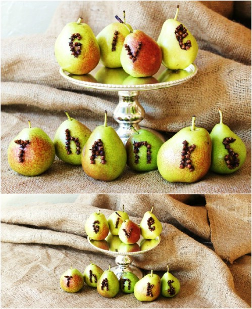 Pear and Clove Messages