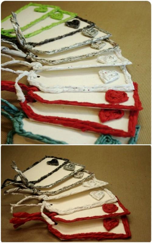 Paper Yarn Tags