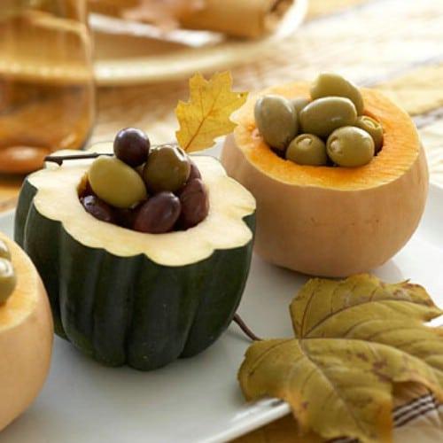 Decorative Gourd Servers
