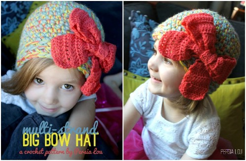 Multi-Strand Bow Hat
