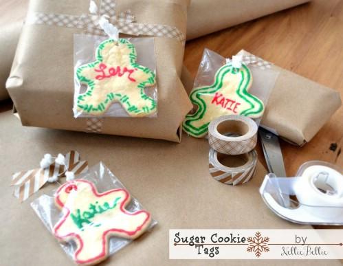 Sugar Cookie Tags