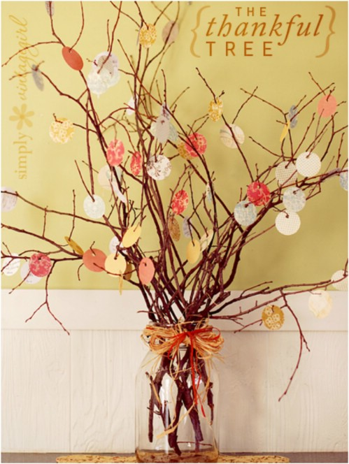 Make a Thankful Tree