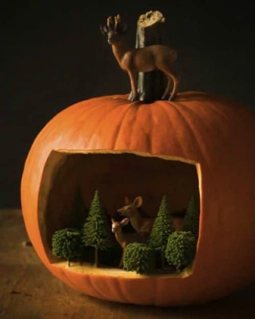 Make a Pumpkin Diorama