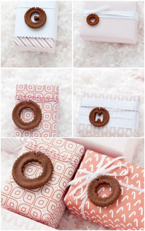 Cinnamon Dough Tags