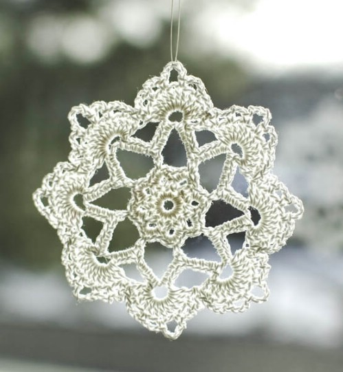 DIY Crocheted Ornaments
