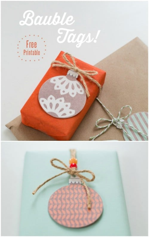 Bauble Tags