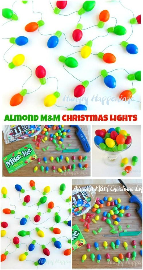 Edible Christmas Lights