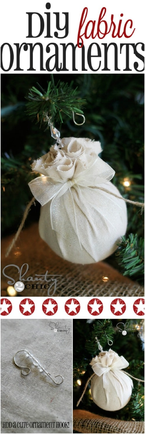 Fabric Ball Ornaments