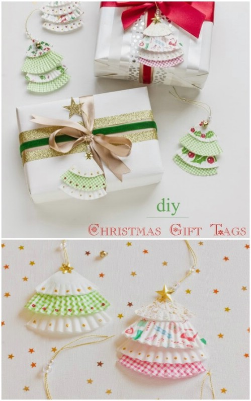 Frilly Tree Tags