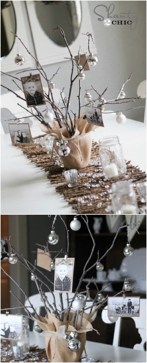 Photo Tree Centerpiece
