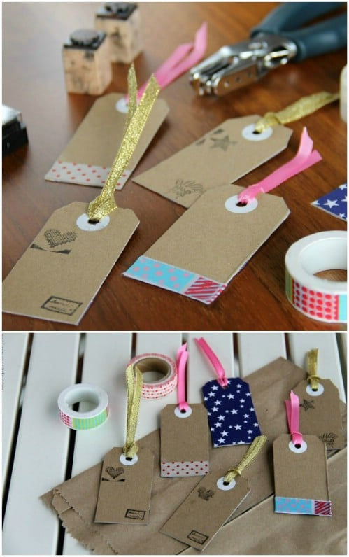 Cereal Box Tags