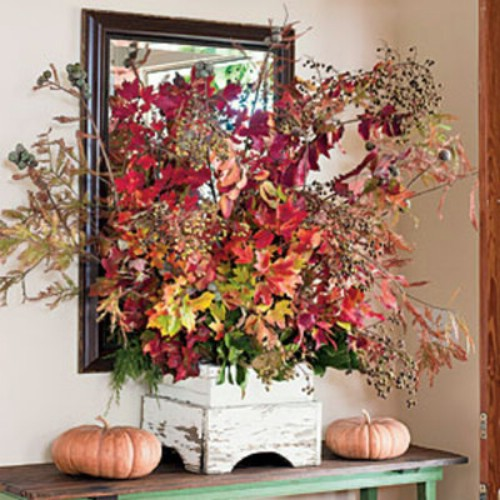 Decorate with Foliage